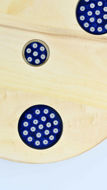 Picture of ROUND DECOR BOARD  with Ceramic Insert 3+1 COBALT