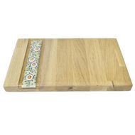 Picture of SMALL DECOR BOARD with Ceramic Insert - FLORAL