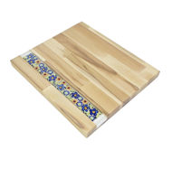 Picture of BIG DECOR BOARD with Ceramic ART  Floral motif