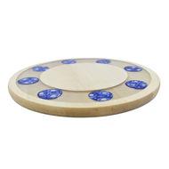 Obrazek Taca ozdobna mała obrotowa – ceramika ZNAMMI