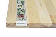 Obrazek Taca ozdobna duża – ceramika motyw Kwiaty