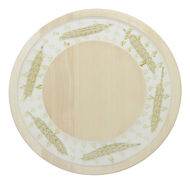 Picture of Serving Board Round Small - ZNAMMI HERBS